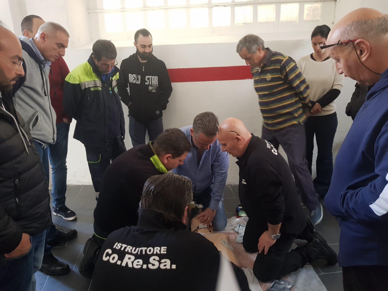 Corso e retraining per volontari soccorritori a catania for Corso arredatore d interni catania